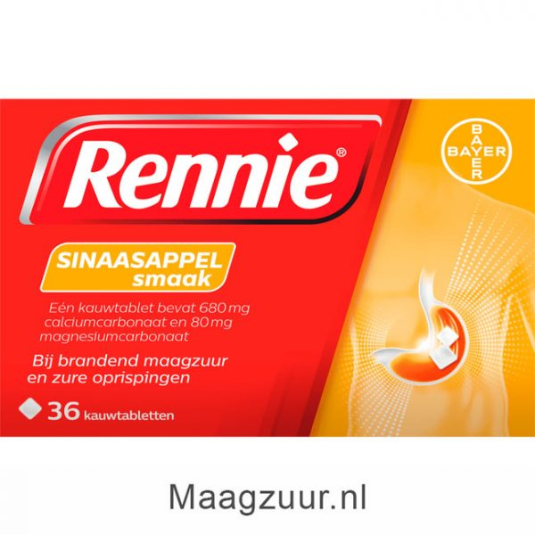 Rennie Sinaasappelsmaak